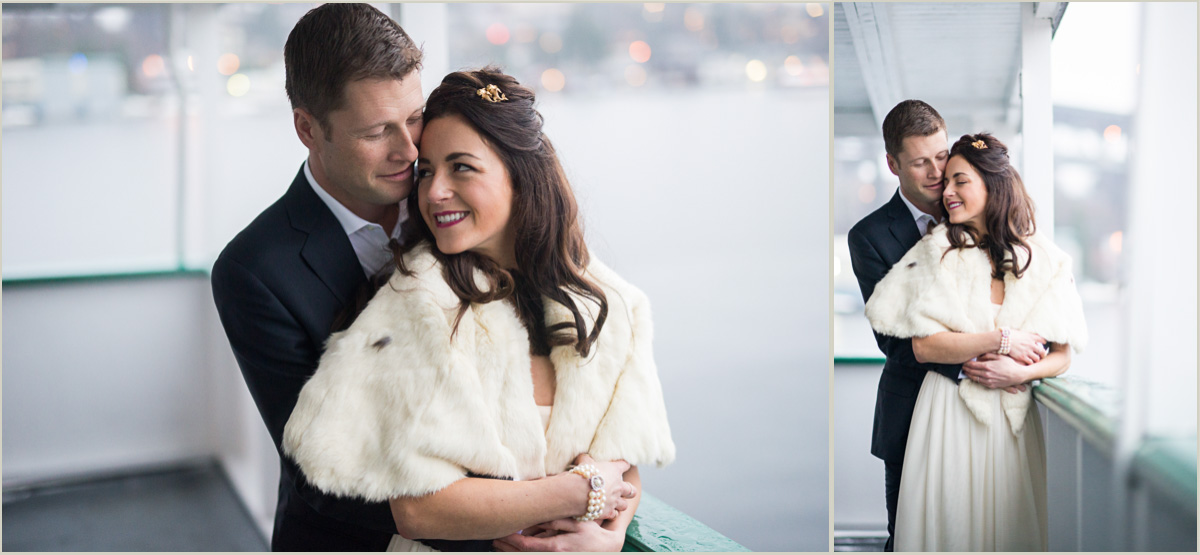 take some portraits during cocktail hour on your wedding day