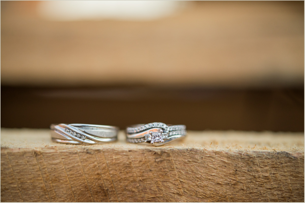 Anniversary Session Wedding Rings