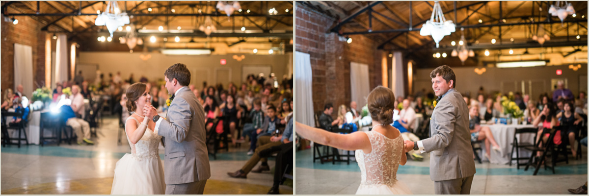 Choreographed First Dance Kansas City Wedding