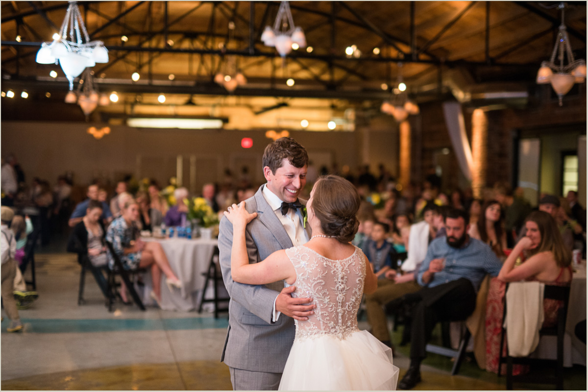 First Dance Kansas City Crossroads Wedding