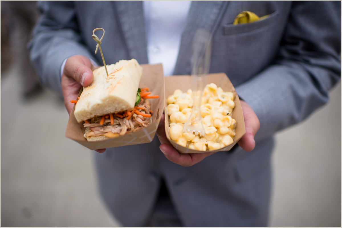 Food Truck Wedding Kansas City Crossroads