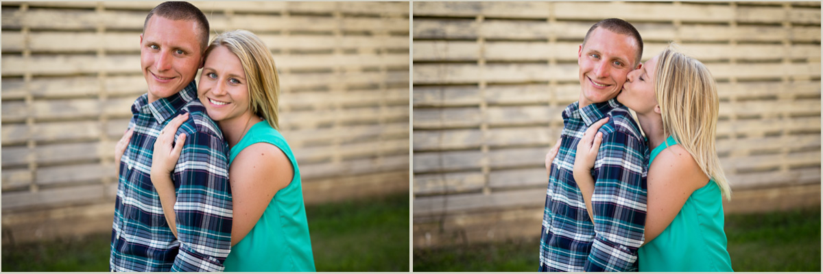 Hanover Kansas Engagement Session