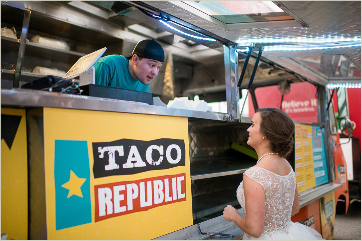 Kansas City Food Truck Wedding