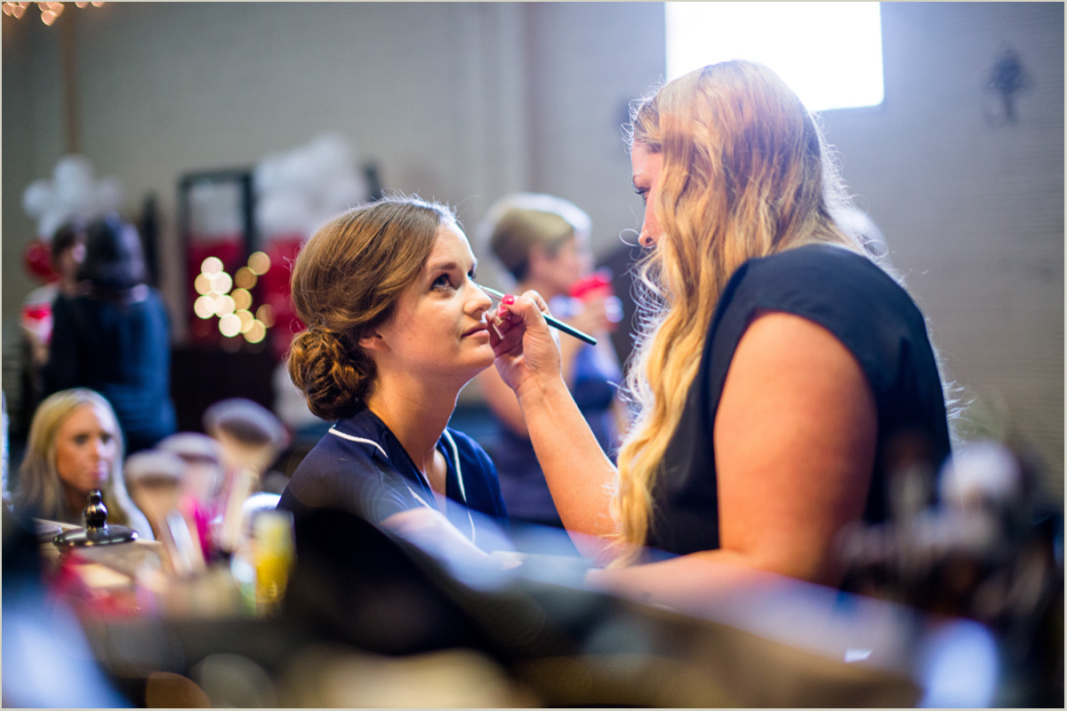 Kansas City Make Up Artist The Promise Wedding