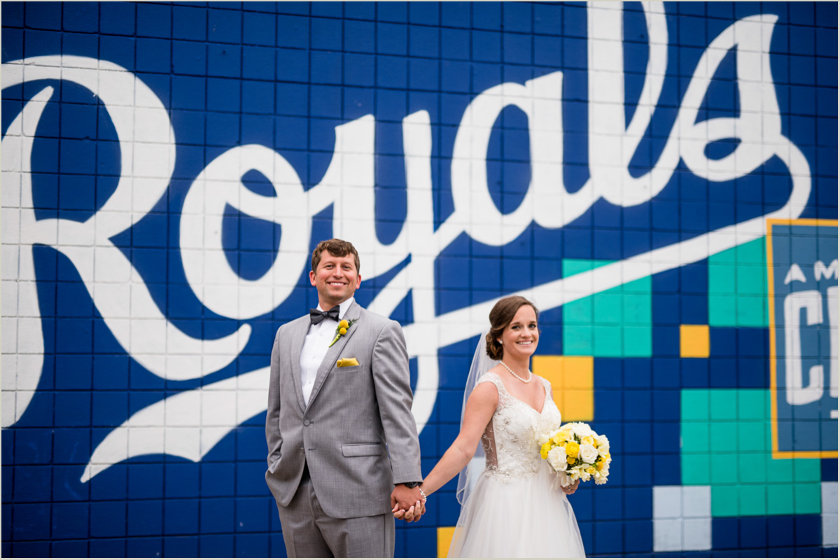 Kansas City Royals Wedding Photos