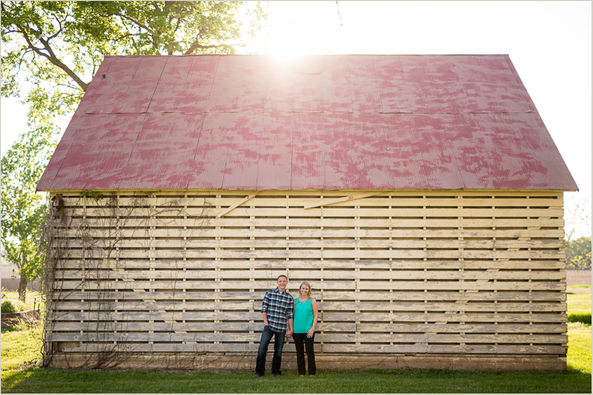Kansas Farm Engagement Session