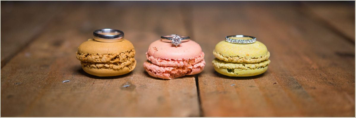 Macaroon Wedding Ring Photo The Promise Wedding