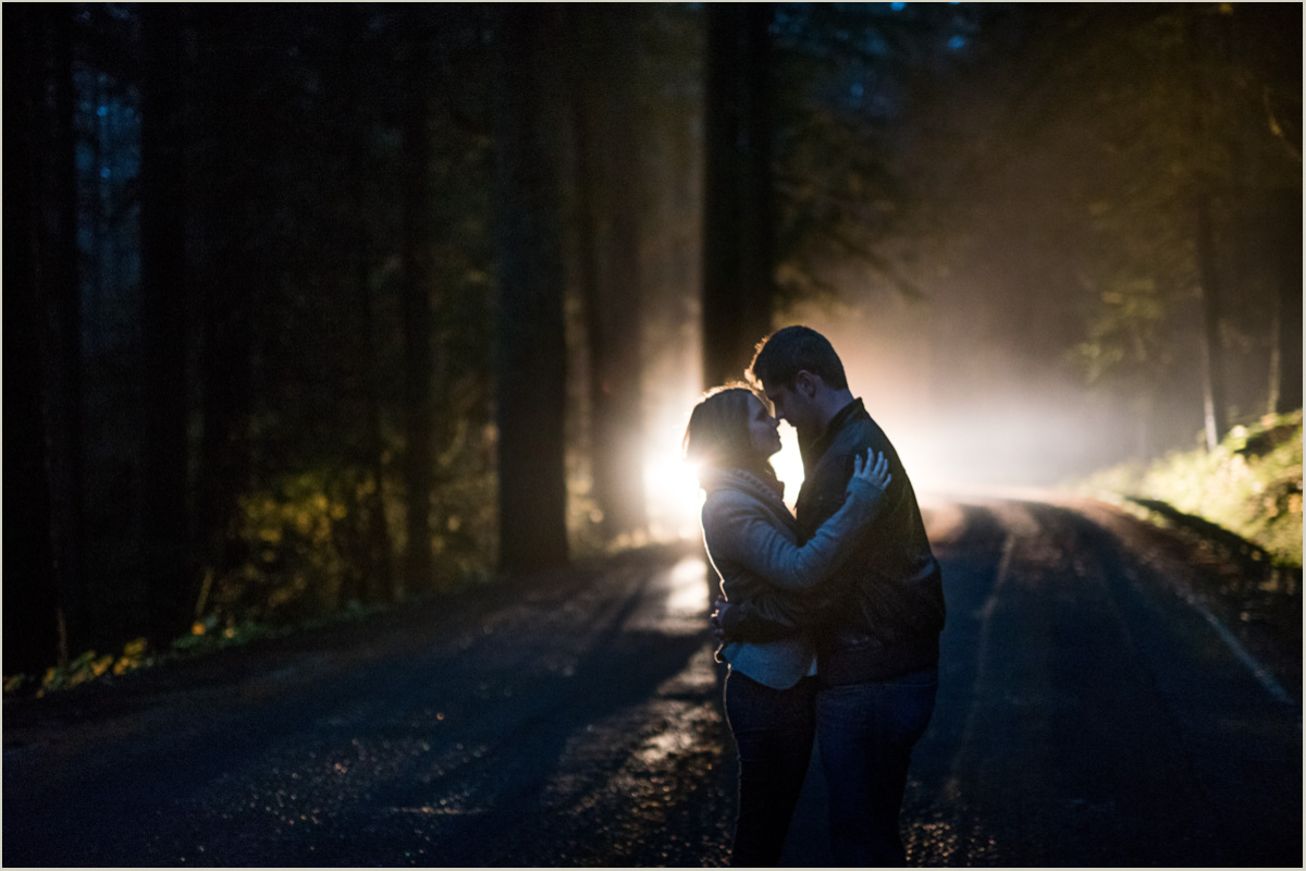 Mount Ranier Adventure Photography Engagement Session