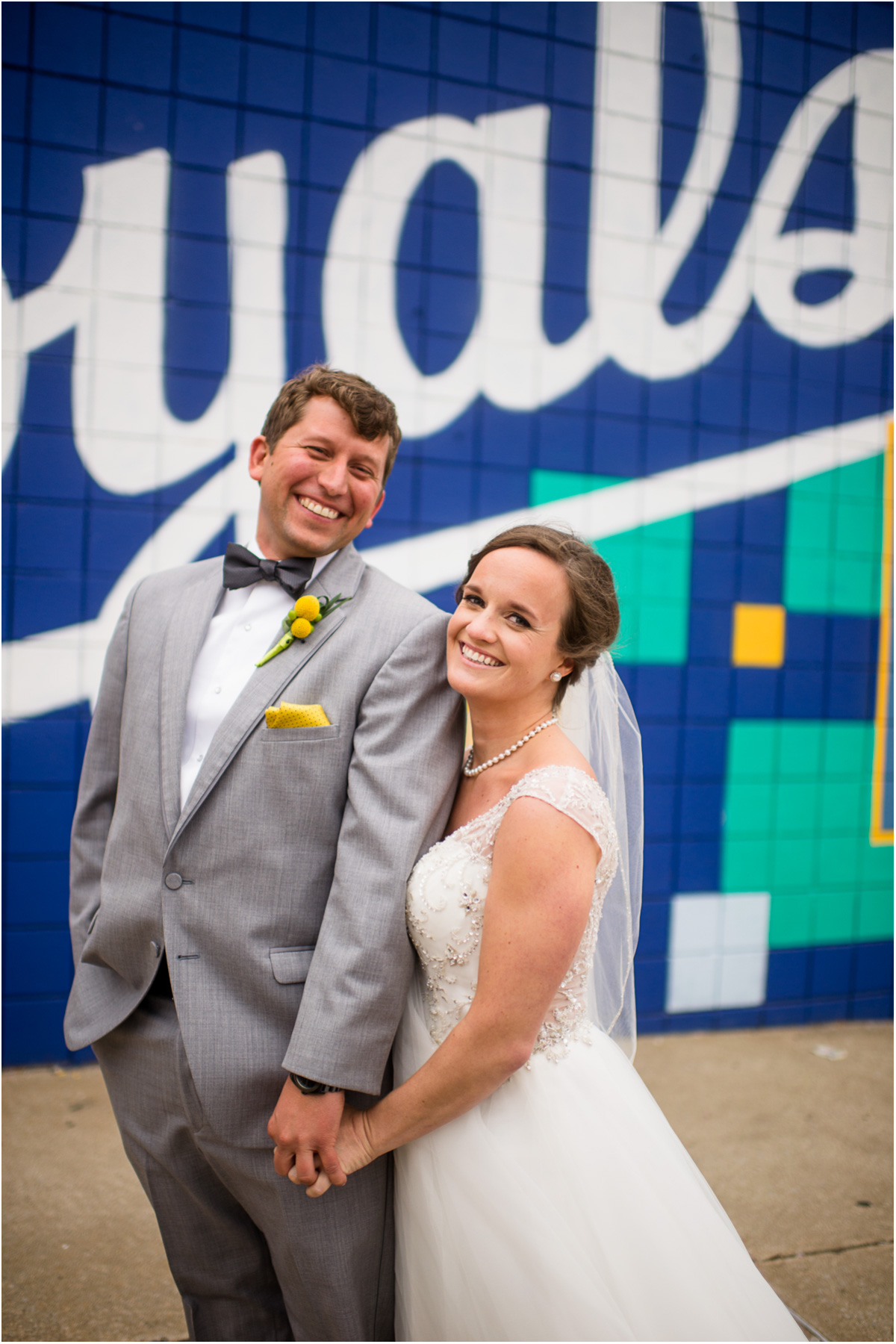 Ultimate Royals Fans Wedding Crossroads District Royals Mural