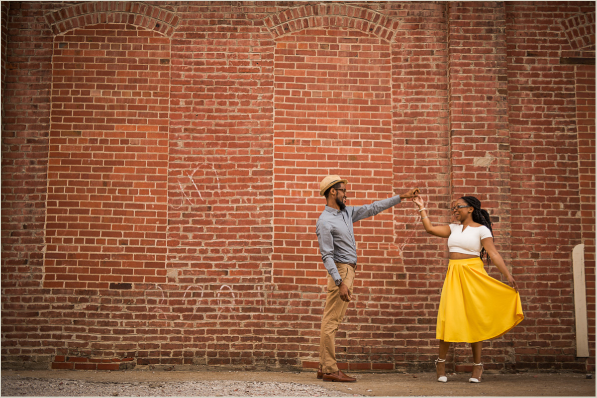 Warehouse Engagement Photos