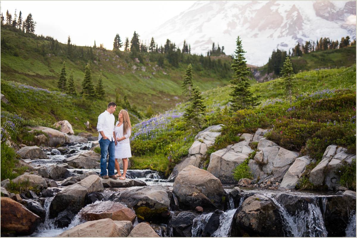 Paradise Engagement Session Seattle Wedding Photographers