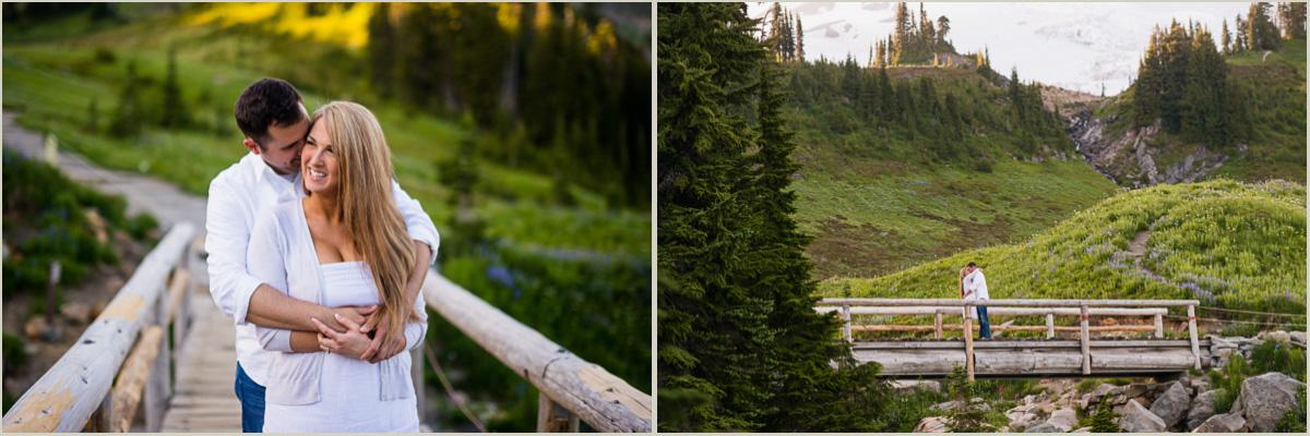 Seattle Adventure Photographers National Park Engagement Photos