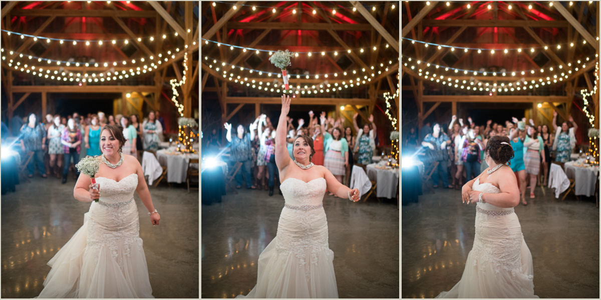 Bouquet Toss Photos