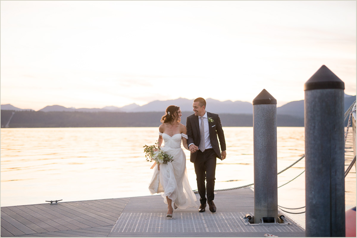 Get Married on the Hood Canal at Robin Hood Resort Village