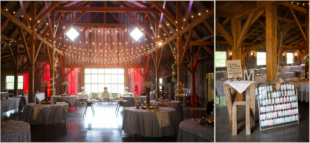 Inside Schwinn Produce Farm Wedding Venue