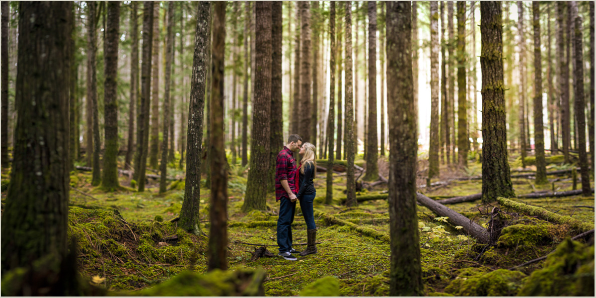 Lake Cushman Engagement Photos