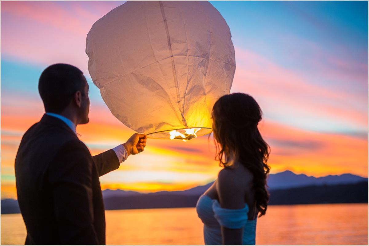 Lantern Wedding Send Off
