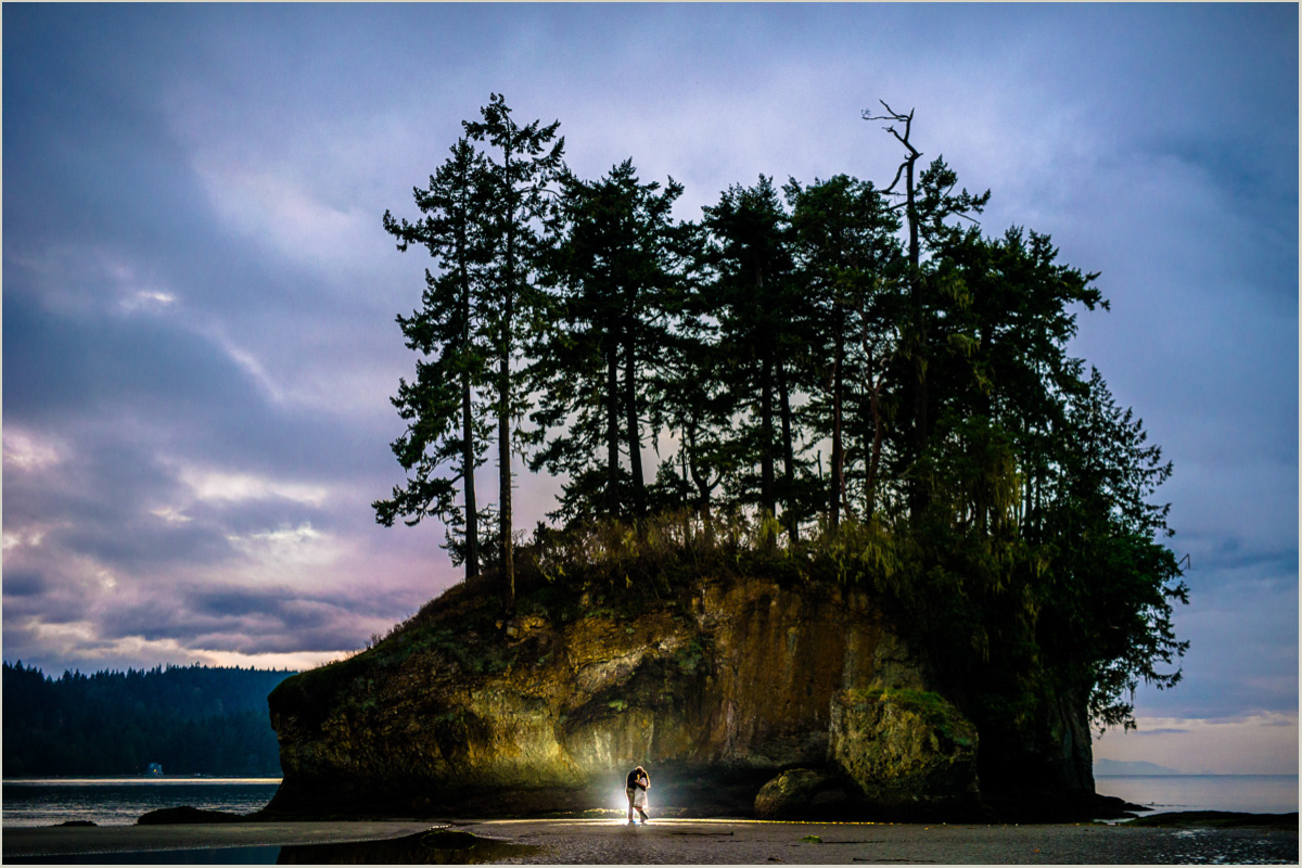 Pacific Northwest Beach Wedding Photos