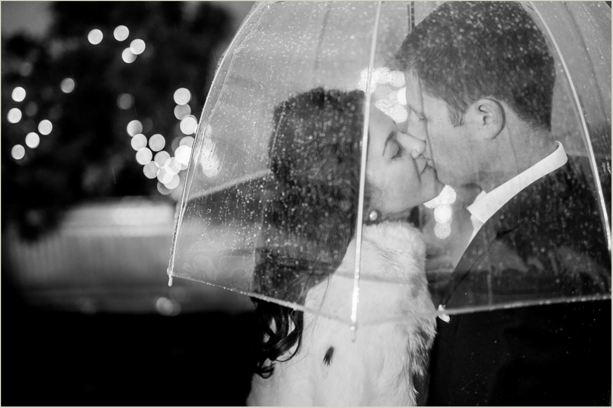 Rainy Seattle Wedding