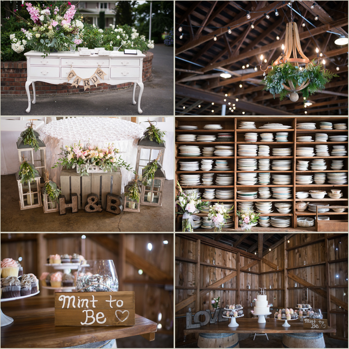 Rustic Barn Wedding Decor Maplehurst Farm