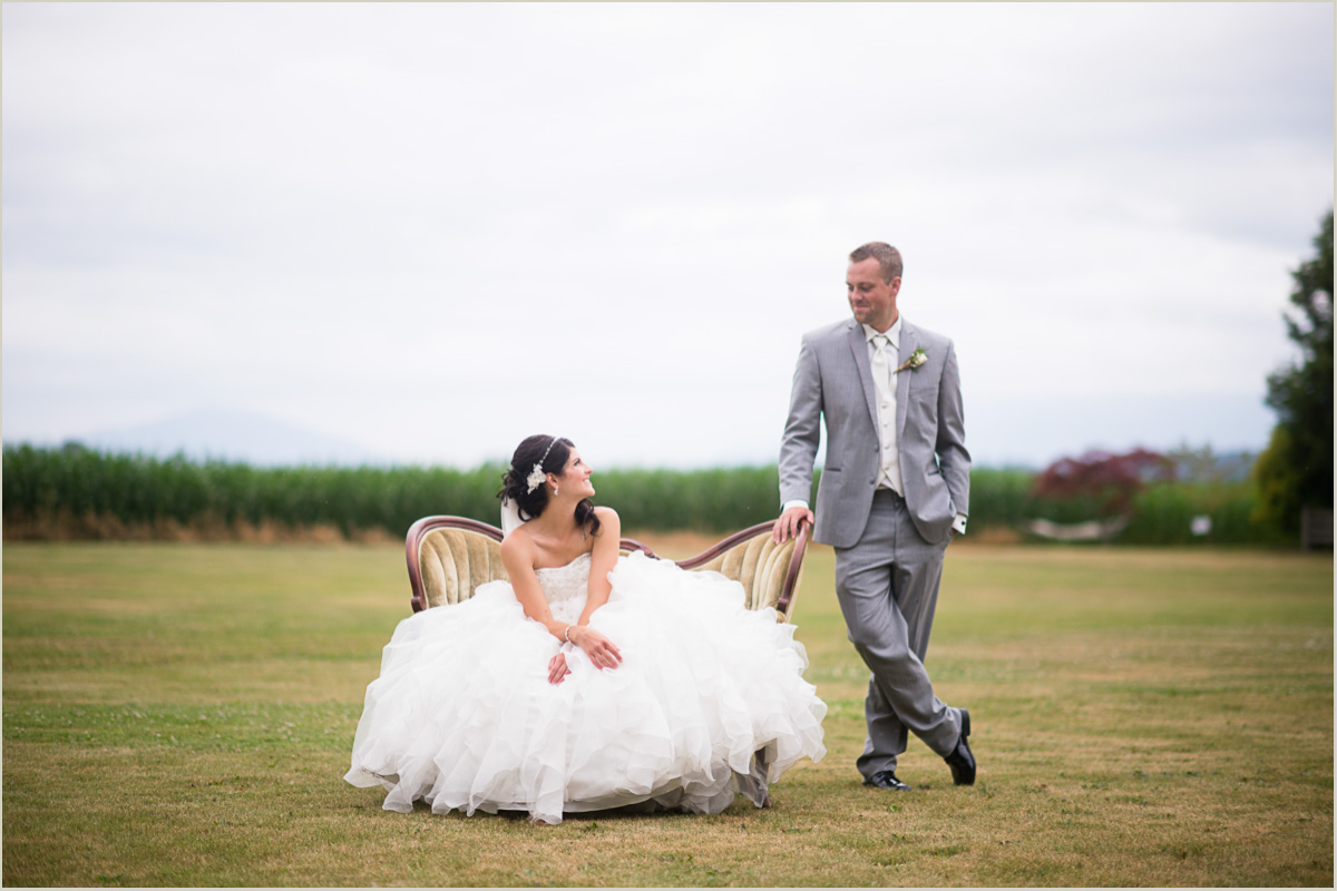 Styled Bride and Groom Portraits