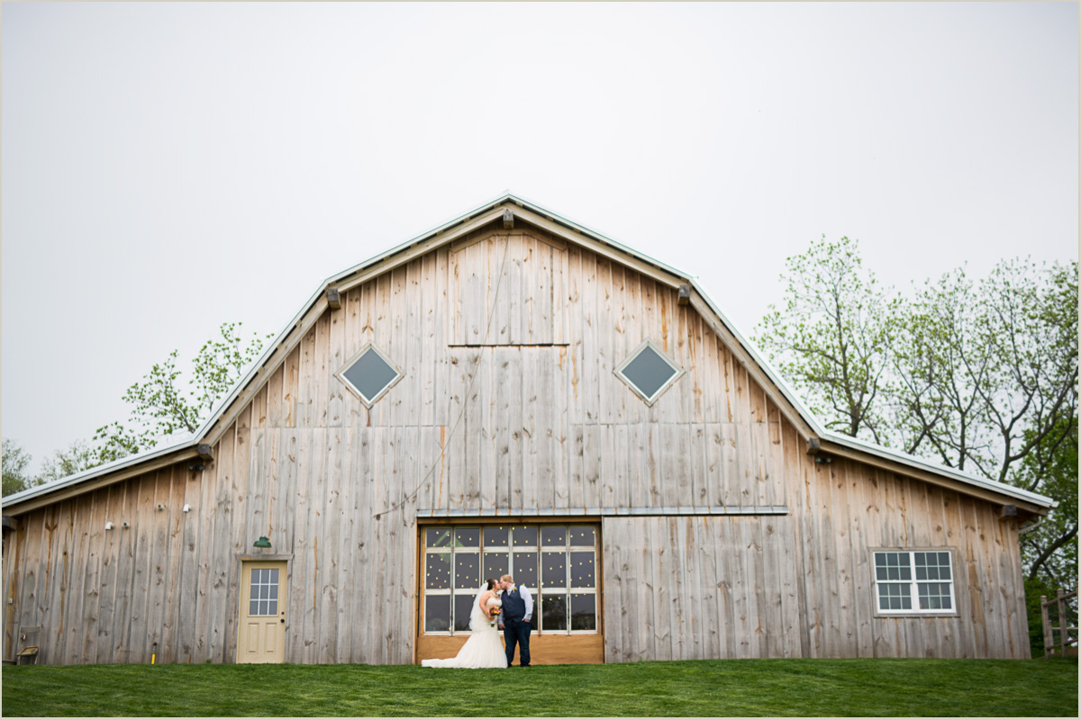 The Barn at Schwinn Produce Farm Wedding Kansas City Wedding