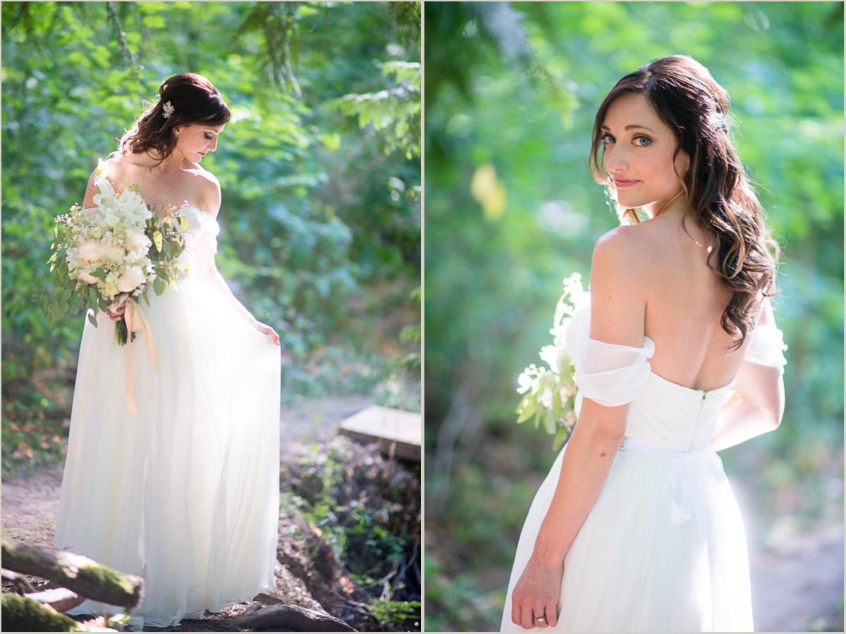 Woodland Wedding Bride