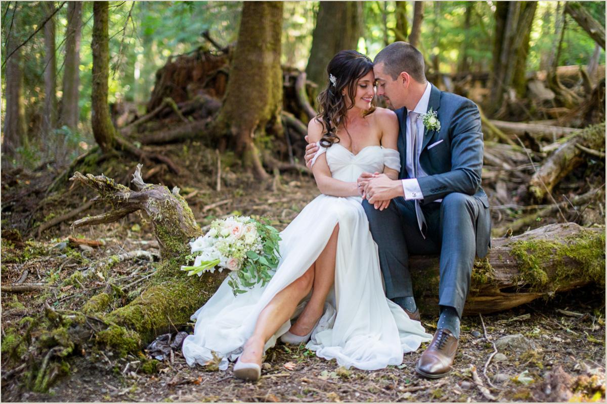 Woodland Wedding at Robin Hood Village in Washington