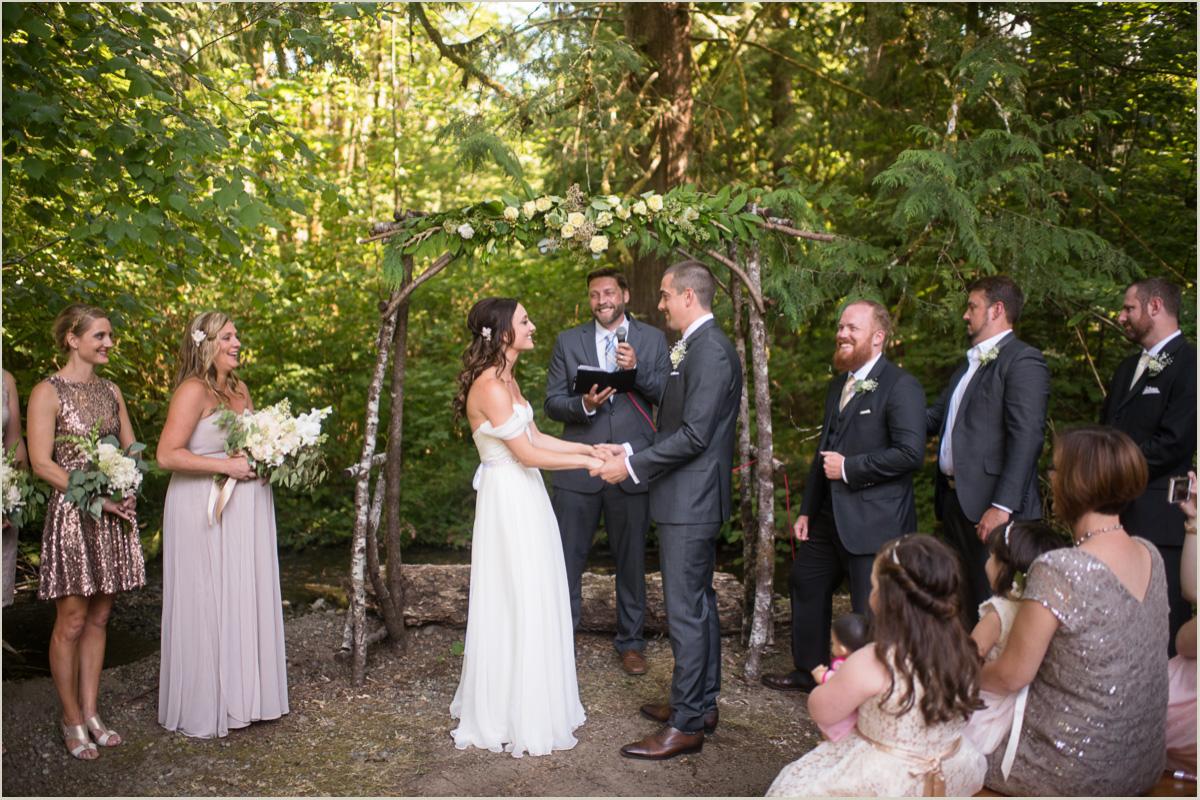 Woodsy Wedding in Washington