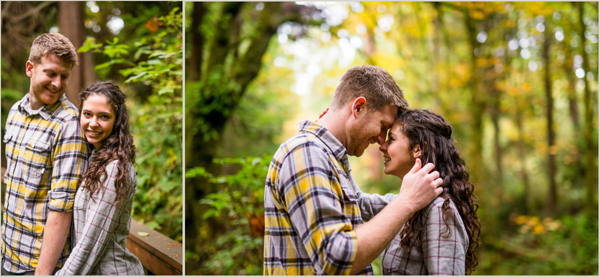 Fall Engagement Photos in Seattle