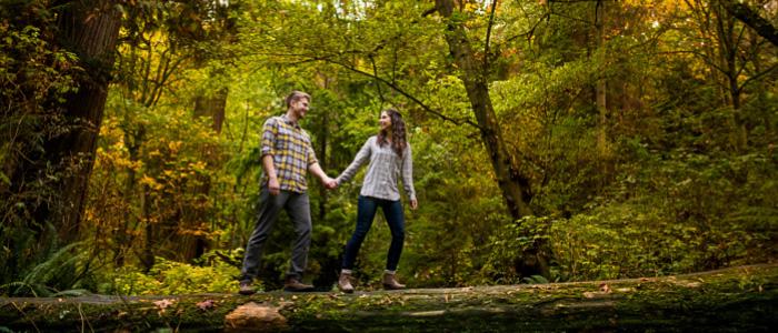 Schmitz Park Engagement Photos   Seattle Wedding Photographer