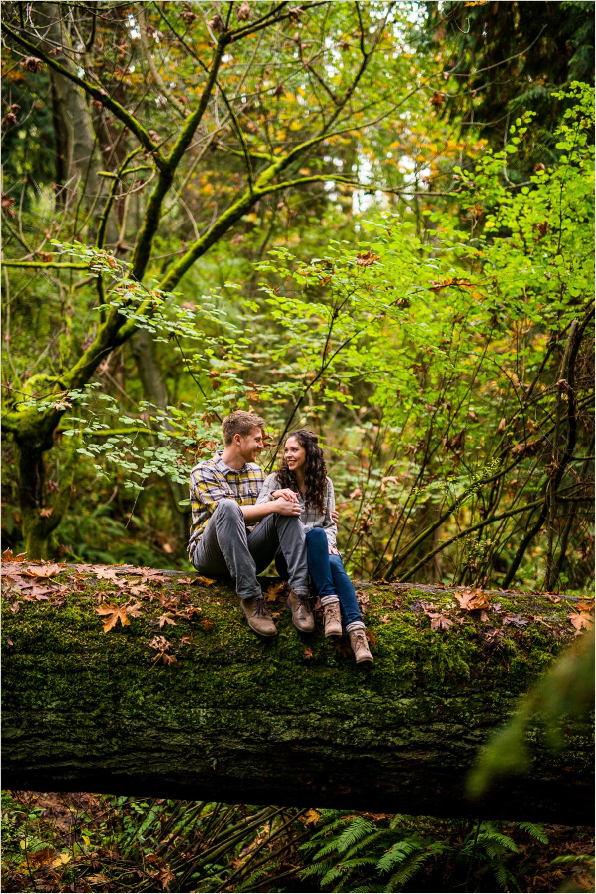 Schmitz Park Engagement Photos