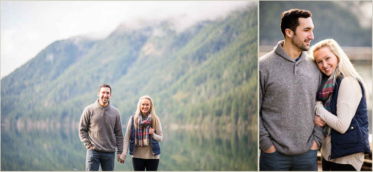 Couples Photos at Olympic National Park