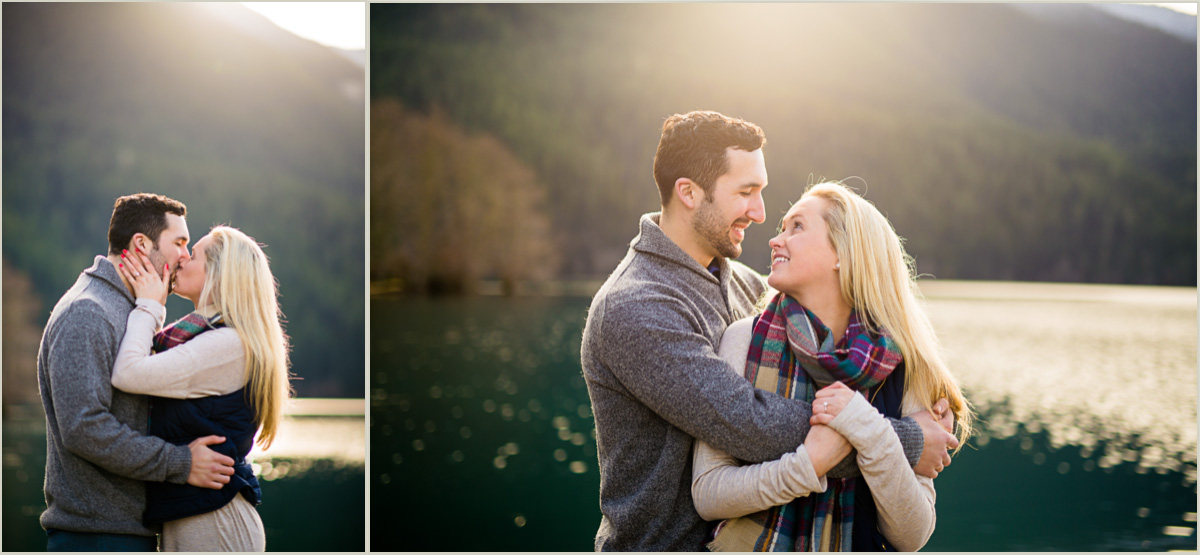 Engagement Session at Lake Crescent Washington