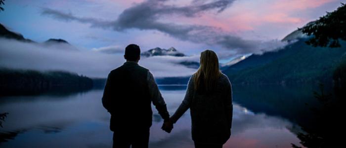 Lake Crescent Engagement Photos   Seattle Wedding Photographers