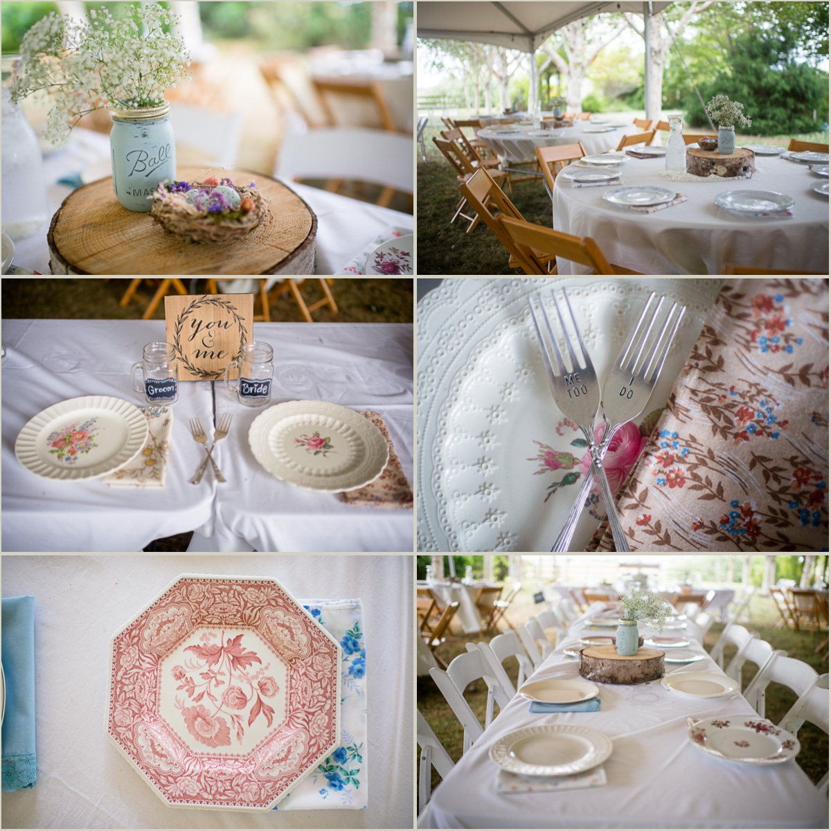 Vintage Wedding Centerpieces Ideas: Seattle Wedding Photographers