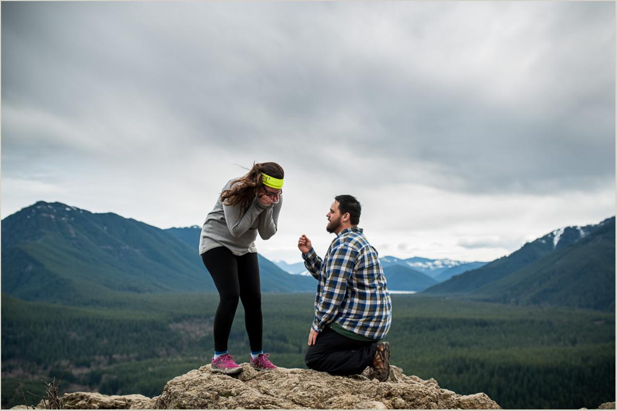 Proposal at Rattlesnake Ledge