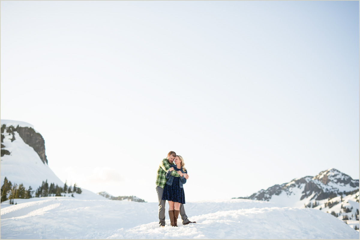 Artist Point Engagement Photos Seattle Wedding Photographers Salt and Pine