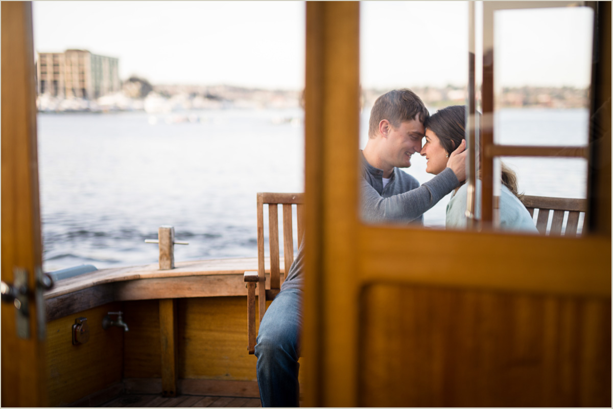 Engagement Photos on Lake Union in Seattle