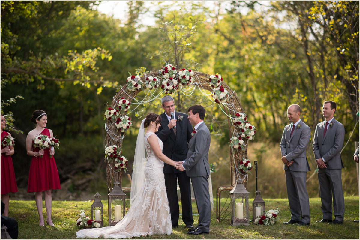 Fall Kansas Wedding