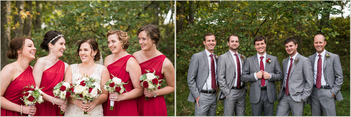 Fall Prairiewood Wedding