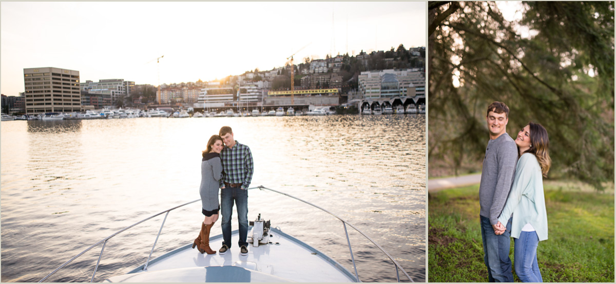 Fun Engagement Photos in Seattle