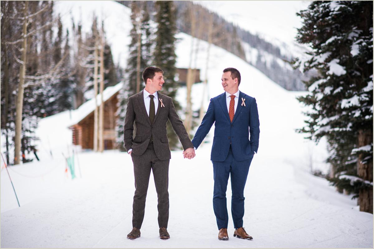 Gay Wedding in Telluride Colorado