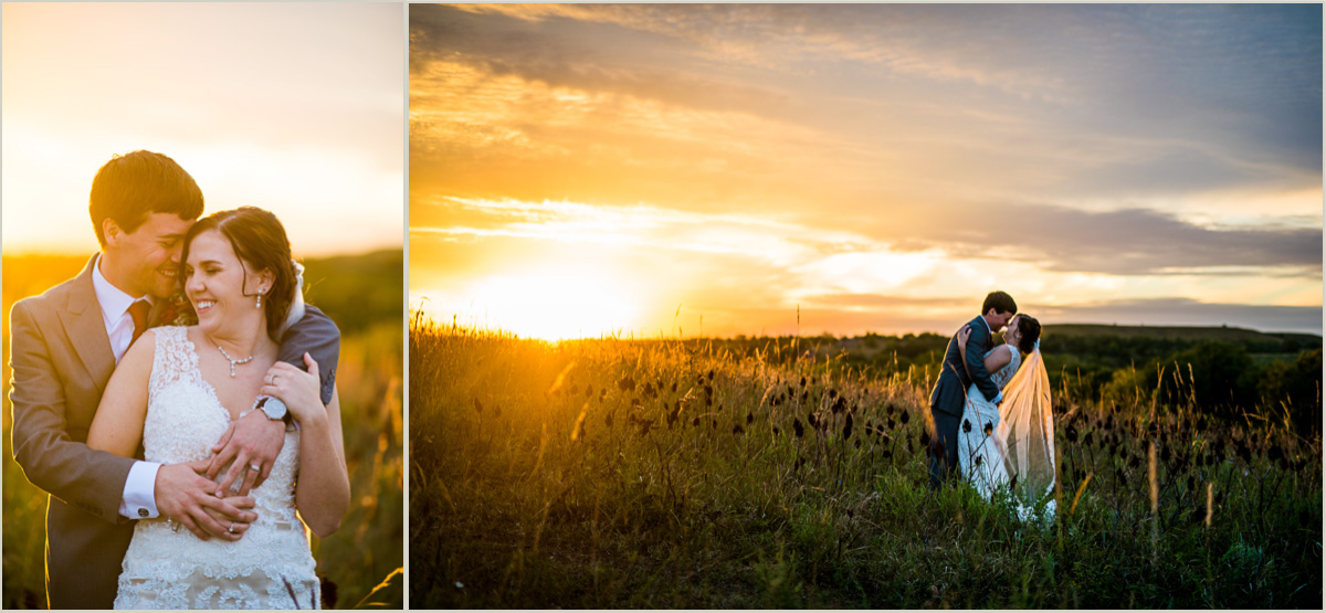 Kansas Prairie Wedding Photos