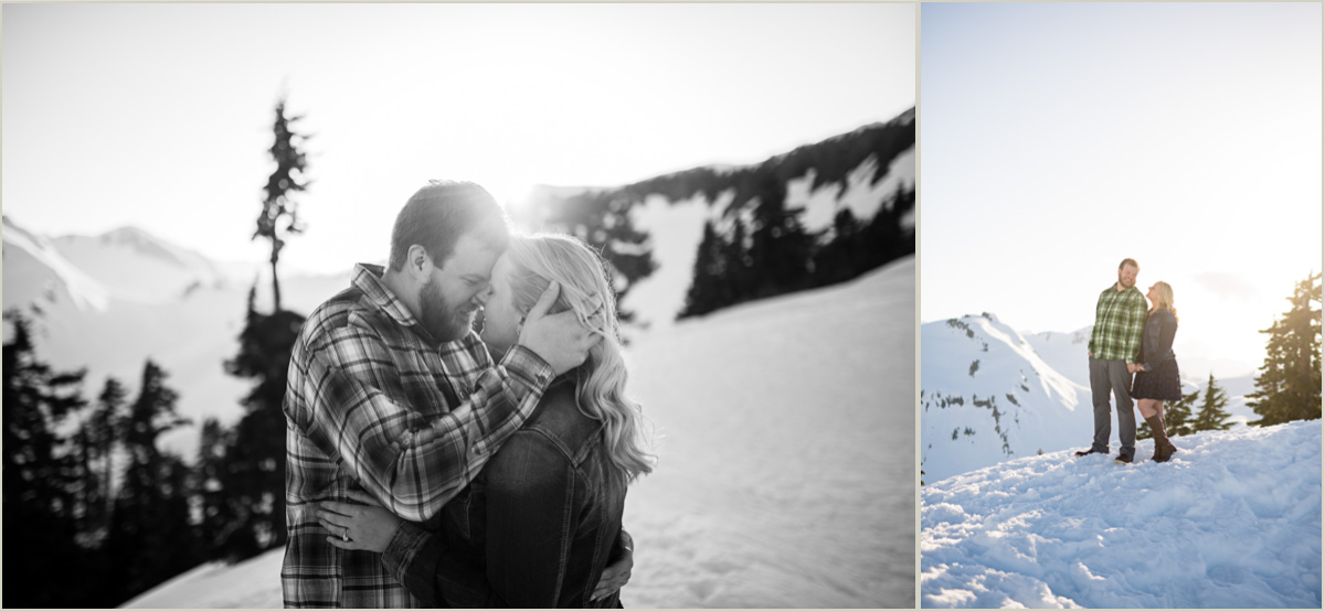 Mount Baker Engagement Photos