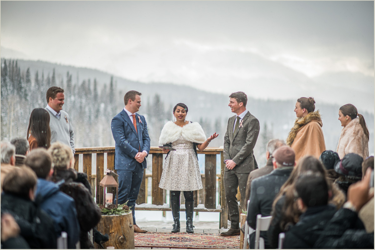 Mountain Wedding in Telluride Colorado