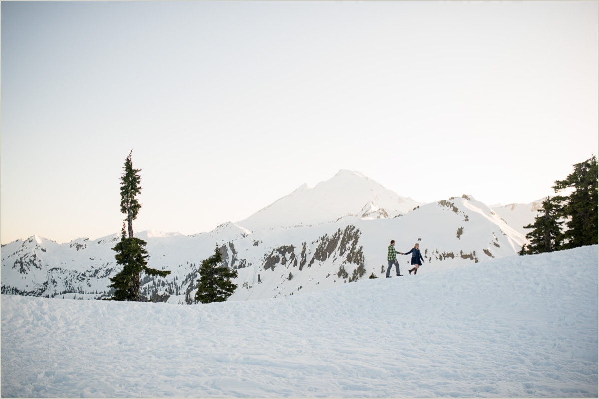 North Cascades Engagement Photos