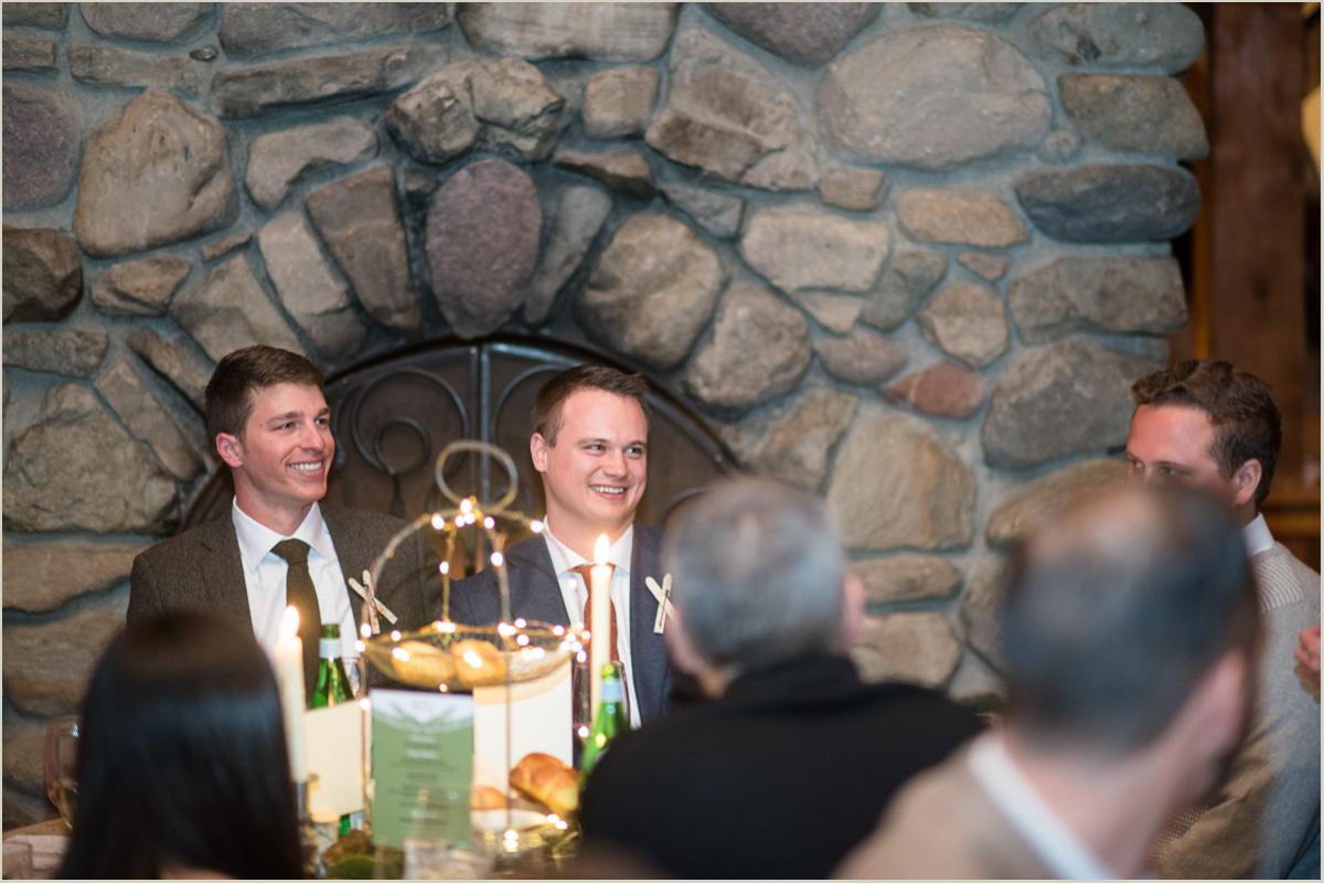 Reception Toasts at Gorrono Ranch