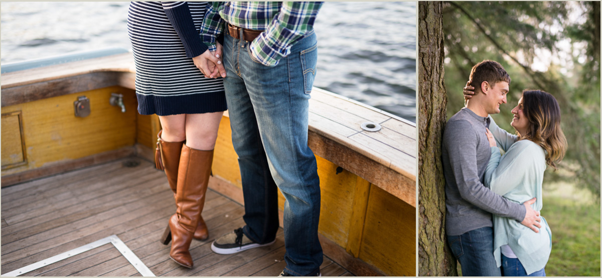 Seattle Engagement Session on a Boat