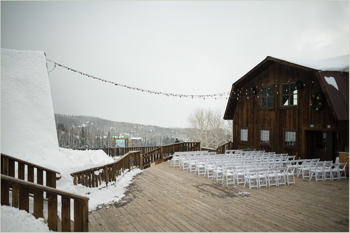 Winter Wedding at Gorrono Ranch Telluride Ski Resort
